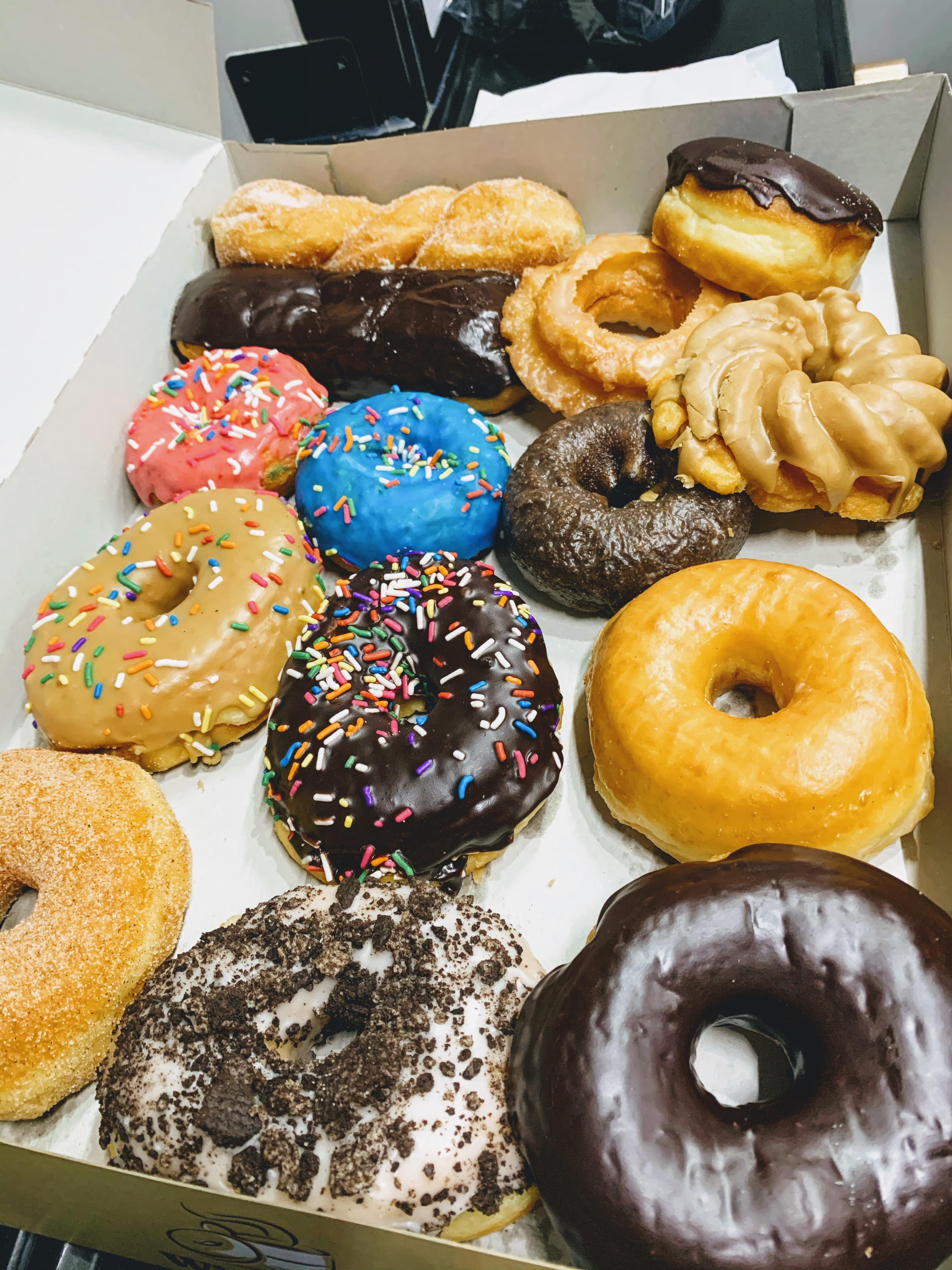 Baker's dozen + 1 of donuts